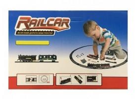Железная дорога HQ 210 деталей, с локомотивом на батарейках 1