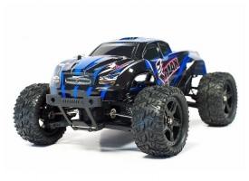 Радиоуправляемый монстр Remo Hobby SMAX Brushless (синий) 4WD 2.4G 1/16 RTR