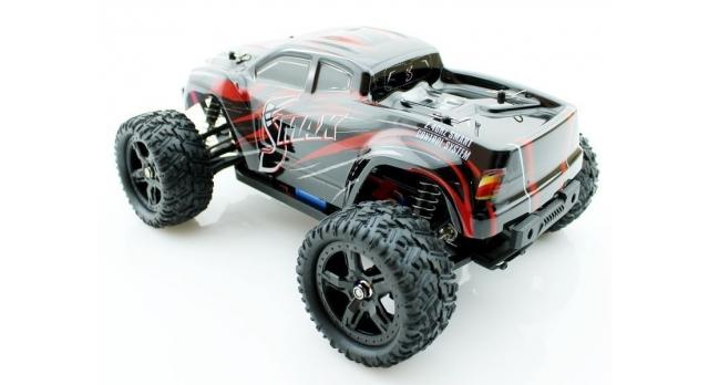 Радиоуправляемый монстр Remo Hobby SMAX Brushless 4WD 2.4G 1/16 RTR 8