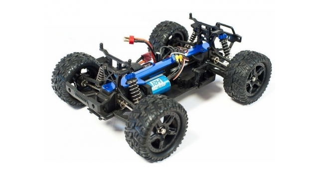 Радиоуправляемый монстр Remo Hobby SMAX Brushless 4WD 2.4G 1/16 RTR 11