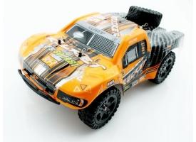 Радиоуправляемый шорт-корс Remo Hobby Rocket Brushless (красный) 4WD 2.4G 1/16 RTR