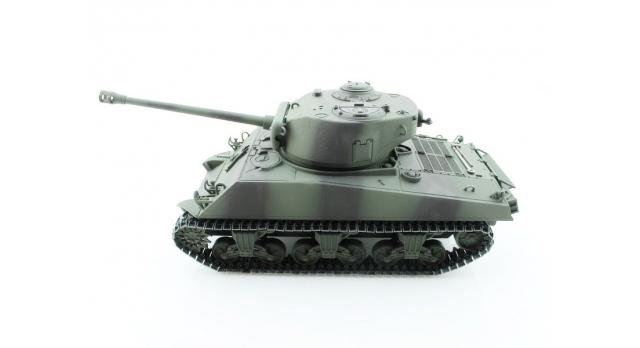 Р/У танк Torro Sherman M4A3 76mm, 1/16 2.4G, ВВ-пушка, деревянная коробка 2