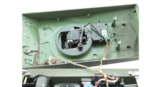 Р/У танк Torro Sherman M4A3 76mm, 1/16 2.4G, ВВ-пушка, деревянная коробка 7