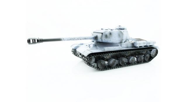 Р/У танк Taigen 1/16 ИС-2 модель 1944, СССР, зимний, (для ИК танкового боя) 2.4G 1
