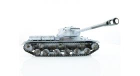Р/У танк Taigen 1/16 ИС-2 модель 1944, СССР, зимний, (для ИК танкового боя) 2.4G 7