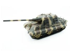 Р/У танк Torro Jagdtiger (Metal Edition) 1/16 2.4G, ВВ-пушка, деревянная коробка 1