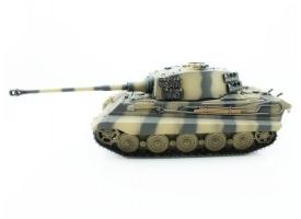 Р/У танк Torro King Tiger (башня Henschel) 1/16 2.4G, ИК-пушка, деревянная коробка 1