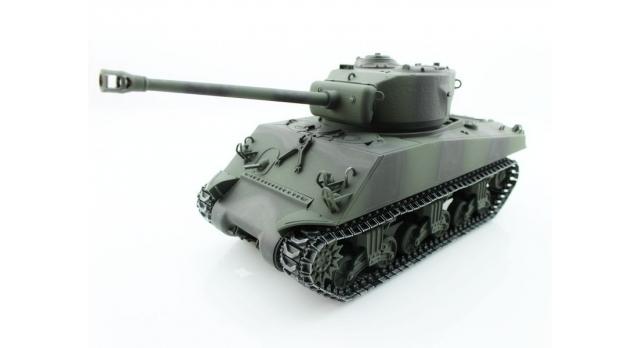 Р/У танк Torro Sherman M4A3 76mm, 1/16 2.4G, ИК-пушка, деревянная коробка 3