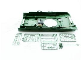 Верхняя часть корпуса с комплектом аксессуаров для танка Leopard 2A6, неокрашеная. 1