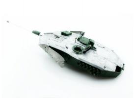 Металлическая башня для танка Leopard 2A6 c BB-пушкой и вращением на 360°, неокрашеная
