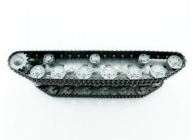 Металлическое шасси (редуктора, приемник, динамик) для танка ИС-2 1