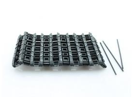 Запасные траки гусениц для танка King Tiger (Porsche), металл (10 звеньев)