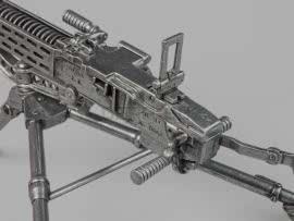 4513 Уменьшенная копия пулемёта ZB Vz 37 (ZB-53)