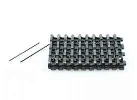 Запасные траки гусениц для танка Tiger 1 (ранняя версия), металл (10 звеньев)
