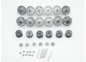 Катки металлические для танка ИС-2 (комплект)