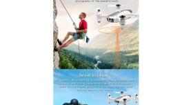 Р/У квадрокоптер Syma W1 brushless с FPV трансляцией Wi-Fi, барометр, GPS, 6-AXIS, 2.4G RTF 11