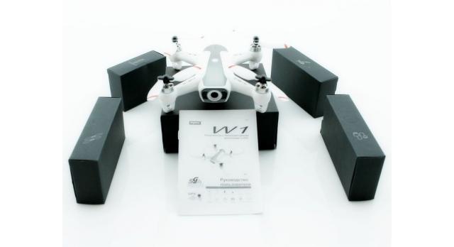 Р/У квадрокоптер Syma W1 brushless с FPV трансляцией Wi-Fi, барометр, GPS, 6-AXIS, 2.4G RTF 17