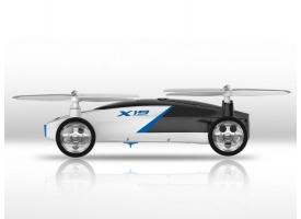 Р/У квадрокоптер Syma X19W Летающая машина с FPV трансляцией Wi-Fi 6-AXIS 2.4G RTF