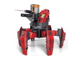Р/У боевой робот-паук Space Warrior, лазер, пульки, красный, Ni-Mh и З/У, 2.4G