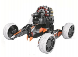 Р/У боевая машина Universe Chariot, лазер, ракеты, оранжевая, Ni-Mh и З/У, 2.4G