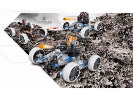 Р/У боевая машина Universe Chariot, лазер, ракеты, оранжевая, Ni-Mh и З/У, 2.4G 1