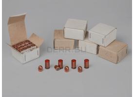 Комплект 9х18-мм (для ПМ) пуля с капсюлированной гильзой