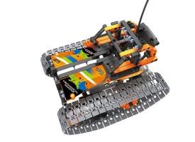 Р/У конструктор Qihui Mechanical Master Скоростной вездеход (392 детали), оранжевый 1