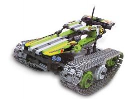Р/У конструктор Qihui Mechanical Master Скоростной вездеход (353 детали), зеленый