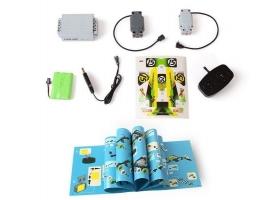 Р/У конструктор Qihui Mechanical Master Скоростной вездеход (353 детали), зеленый 1