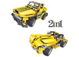 Р/У конструктор Qihui Mechanical Master 2 в 1 Пикап и Родстер (426 деталей)