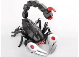 ИК механический скорпион Feilun, звук, свет 1