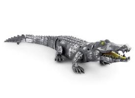 Механический крокодил Feilun, звук, свет
