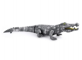 Механический крокодил Feilun, звук, свет 1