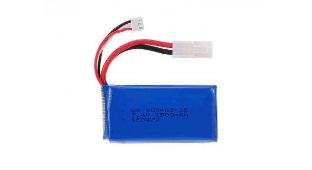 Аккумуляторная батарея Li-Po 7.4V 1500mAh для катера Feilun FT016 1