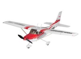 Р/У самолет Top RC Cessna 182 400 class красная 965мм PNP