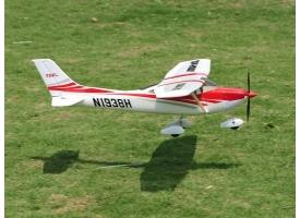 Р/У самолет Top RC Cessna 182 400 class красная 965мм PNP 1