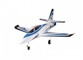 Р/У самолет Top RC Jet Star голубой 800 мм импеллер 65мм PNP