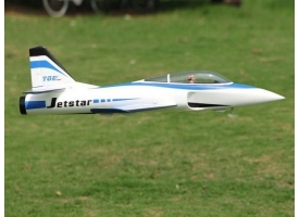 Р/У самолет Top RC Jet Star голубой 800 мм импеллер 65мм PNP 1