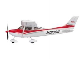 Р/У самолет Top RC Cessna 182 400 class красная 965мм 2.4G 4-ch LiPo RTF 1