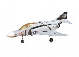 Р/У самолет Top RC F4 белый 628 мм импеллер PNP