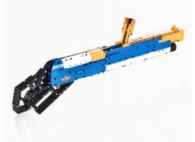 Конструктор CaDA Technic дробовик M1887, стреляет пульками (506 деталей) 1