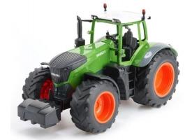 Р/У сельскохозяйственный трактор с прицепом Double Eagle 1:16 1
