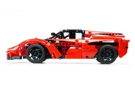 Р/У конструктор CaDA Technic спортивная машина (380 деталей) C51009K 1