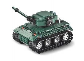 Р/У конструктор CaDA Technic танк Tiger 1 (313 деталей)