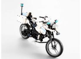 Конструктор CADA deTech полицейский мотоцикл (539 деталей) 1