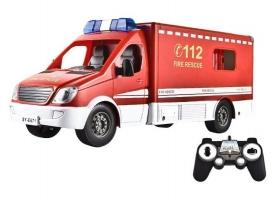 Р/У пожарный фургон Double Eagle 1:18 1