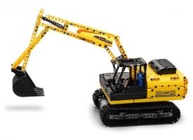 Р/У конструктор CADA deTech гусенечный экскаватор (544 детали)