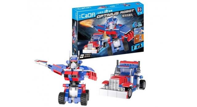 Конструктор CaDA Робот OPTIMUS (251 деталь) 8