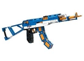 Конструктор CaDA Technic автомат АК-47 (498 деталей)