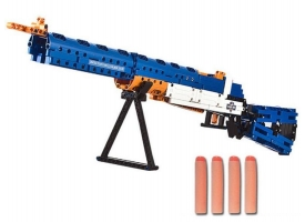 Конструктор CaDA Technic винтовка М1, стреляет пульками (583 детали)